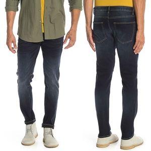 Vigoss Mick 330 Slim Dark Wash Denim Blue Jeans